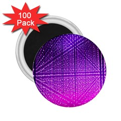 Pattern Light Color Structure 2.25  Magnets (100 pack)