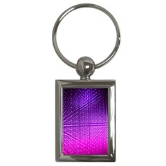 Pattern Light Color Structure Key Chains (Rectangle)