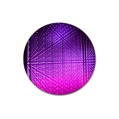 Pattern Light Color Structure Magnet 3  (Round)