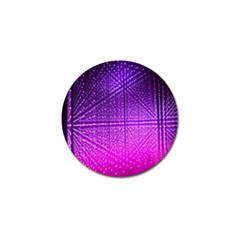 Pattern Light Color Structure Golf Ball Marker (4 Pack)