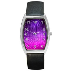 Pattern Light Color Structure Barrel Style Metal Watch