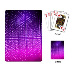 Pattern Light Color Structure Playing Card