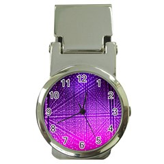 Pattern Light Color Structure Money Clip Watches