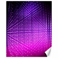 Pattern Light Color Structure Canvas 11  x 14