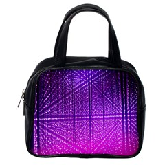 Pattern Light Color Structure Classic Handbags (one Side)