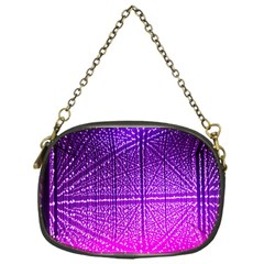 Pattern Light Color Structure Chain Purses (One Side)