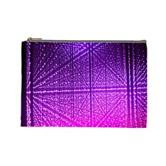Pattern Light Color Structure Cosmetic Bag (Large)