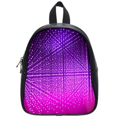 Pattern Light Color Structure School Bags (Small)