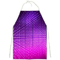 Pattern Light Color Structure Full Print Aprons