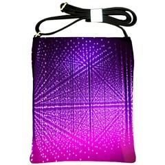 Pattern Light Color Structure Shoulder Sling Bags