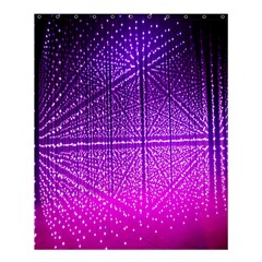 Pattern Light Color Structure Shower Curtain 60  X 72  (medium)