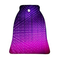 Pattern Light Color Structure Bell Ornament (two Sides)