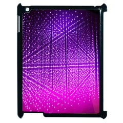 Pattern Light Color Structure Apple iPad 2 Case (Black)