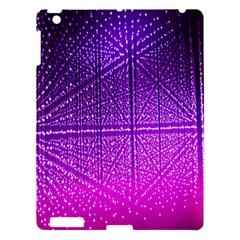 Pattern Light Color Structure Apple iPad 3/4 Hardshell Case