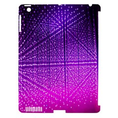 Pattern Light Color Structure Apple iPad 3/4 Hardshell Case (Compatible with Smart Cover)