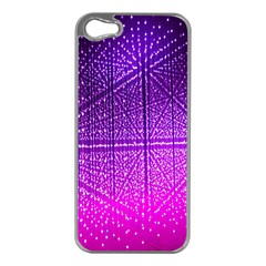 Pattern Light Color Structure Apple iPhone 5 Case (Silver)