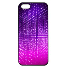 Pattern Light Color Structure Apple iPhone 5 Seamless Case (Black)