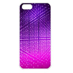Pattern Light Color Structure Apple iPhone 5 Seamless Case (White)