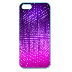 Pattern Light Color Structure Apple Seamless iPhone 5 Case (Color)