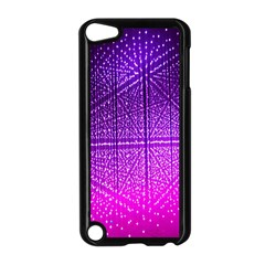 Pattern Light Color Structure Apple iPod Touch 5 Case (Black)