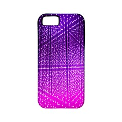 Pattern Light Color Structure Apple Iphone 5 Classic Hardshell Case (pc+silicone)