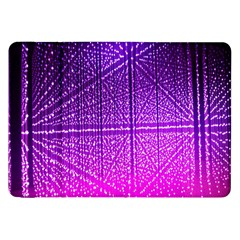 Pattern Light Color Structure Samsung Galaxy Tab 8.9  P7300 Flip Case