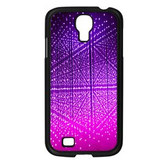 Pattern Light Color Structure Samsung Galaxy S4 I9500/ I9505 Case (Black)