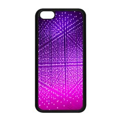 Pattern Light Color Structure Apple iPhone 5C Seamless Case (Black)