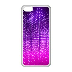 Pattern Light Color Structure Apple Iphone 5c Seamless Case (white)
