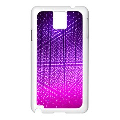Pattern Light Color Structure Samsung Galaxy Note 3 N9005 Case (White)