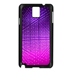 Pattern Light Color Structure Samsung Galaxy Note 3 N9005 Case (Black)