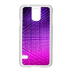 Pattern Light Color Structure Samsung Galaxy S5 Case (White)
