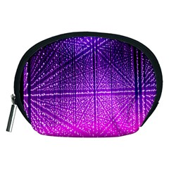 Pattern Light Color Structure Accessory Pouches (Medium)