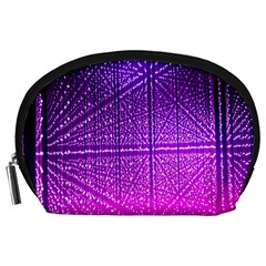 Pattern Light Color Structure Accessory Pouches (Large)