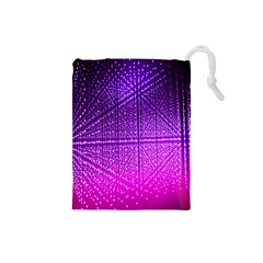 Pattern Light Color Structure Drawstring Pouches (Small)