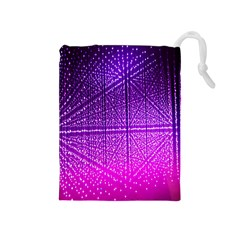 Pattern Light Color Structure Drawstring Pouches (medium)