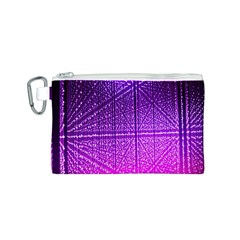 Pattern Light Color Structure Canvas Cosmetic Bag (S)