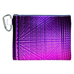 Pattern Light Color Structure Canvas Cosmetic Bag (XXL)