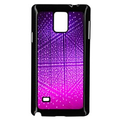 Pattern Light Color Structure Samsung Galaxy Note 4 Case (Black)