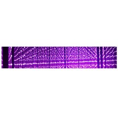 Pattern Light Color Structure Flano Scarf (Large)