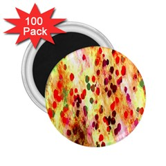 Background Color Pattern Abstract 2.25  Magnets (100 pack)