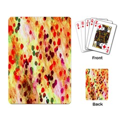 Background Color Pattern Abstract Playing Card