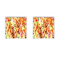 Background Color Pattern Abstract Cufflinks (Square)