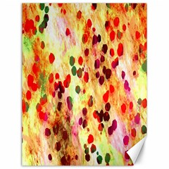Background Color Pattern Abstract Canvas 12  X 16