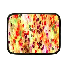 Background Color Pattern Abstract Netbook Case (small)