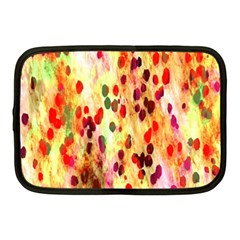 Background Color Pattern Abstract Netbook Case (Medium)