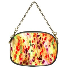 Background Color Pattern Abstract Chain Purses (one Side)