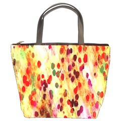 Background Color Pattern Abstract Bucket Bags