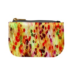 Background Color Pattern Abstract Mini Coin Purses