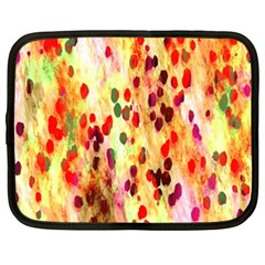 Background Color Pattern Abstract Netbook Case (XXL)